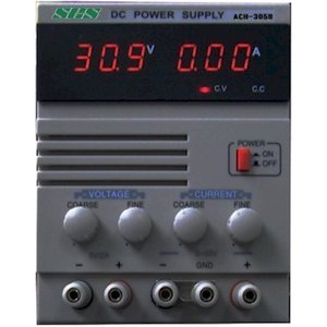 2電圧デジタル直流安定化電源 ACH-305B 30V5A 5V2A ACH305B SCS|atex