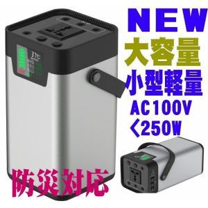 急速充電対応のAC100V 最大250W 出力 DC12V 15A 3系統 USB x2  QC3....