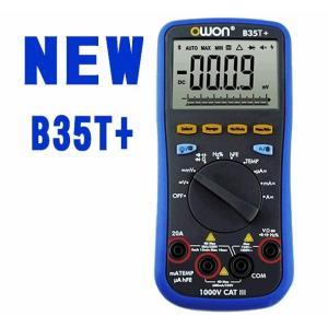 業界初ブルートゥース搭載多機能6000カウントデジタルマルチメーター/音声発声スマホタブレット対応BT35T+ atex
