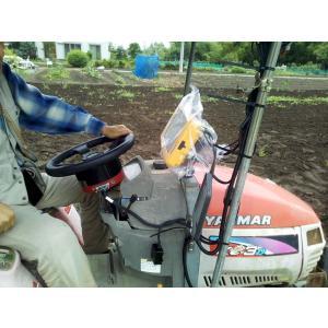 業界初小型耕運機対応 自動運転システムセット GLONASS高精度GPS補正システム付き|atex