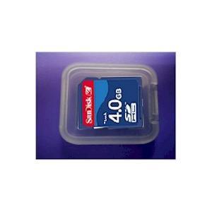 ソフトケース付き4GB高速SDHCメモリーカード2年保証SANDISK製|atex