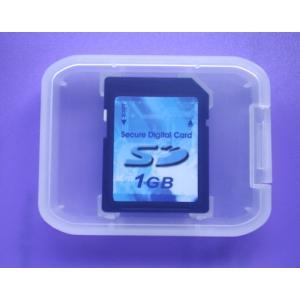 ソフトケース付き1GB高速SDメモリカード2年保証