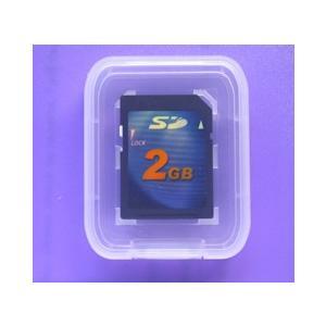 ソフトケース付 2GB 高速高信頼SDメモリカード2年保証|atex