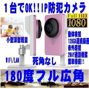 簡単180度フル広角 フルHDIPネットワークカメラ/まる守りくん/録画 防犯カメラ IPカメラ赤外/WIFI/Iphone/スマホ対応 STARCAM MARUMORI|atex