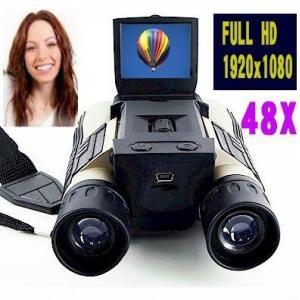1080Pフルハイビジョンデジタルビデオカメラ双眼鏡/48倍/VPHDCAM5|atex