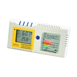 地球温暖化防止と環境に二酸化炭素計CO2モニター計環境測定器