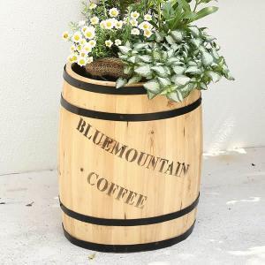 コーヒーバレル プランター L|atgarden