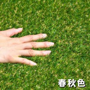 人工芝 芝生 色までリアルなロール人工芝 芝丈20mm (幅1m × 長さ2m) 安全検査実施済|atgarden|04