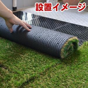 ジョイント床マット ベース 30cm角 水捌けマットの詳細画像1
