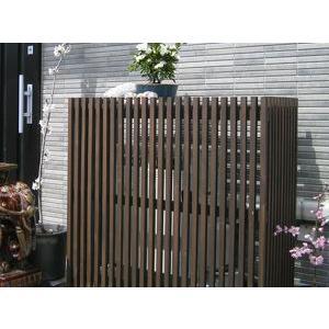 木製室外機カバー モダン エアコンカバー|atgarden