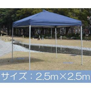 タープテント バッとひろがる ワンタッチ テント M (2.5×2.5m)|atgarden