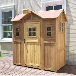 超大型 木製物置小屋 ポタジェモザイク ガーデンシェッド|atgarden