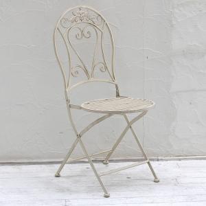 チェア アイアン ガーデンチェア ラウンドチェア ブランティーク 2脚セット 椅子|atgarden