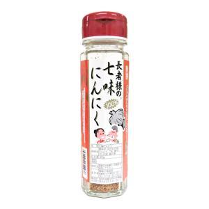 味の海翁堂 長者様の七味にんにく (七味唐辛子) 90g