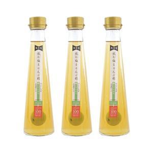 ・国産りんご果汁のみから造った純りんご酢に、紀州産の梅、北海道産のてんさい糖を漬け6カ月以上熟成させ...
