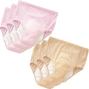 【在庫有】中失禁パンツ 安心さわやかパンツ120女性用 同色3枚組|athenesys