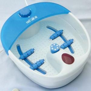【在庫有】足温器/足湯器 マイナスイオン 電動フットケアDX 275-10 6366-062|athenesys