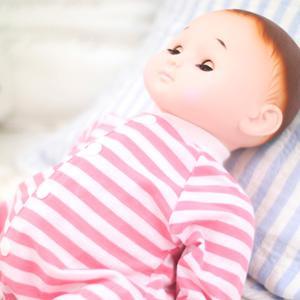 着せ替え人形 かわいい [癒しの赤ちゃん人形 のんちゃん 目元ぱちぱちタイプ]/同梱不可・代引き不可 athenesys