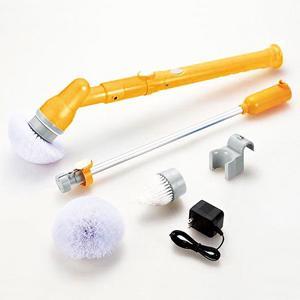 【在庫有】充電式ロングポリッシャー AY-2029[バスクリーナー お風呂場掃除 風呂掃除ポリッシャー ブラシ]|athenesys