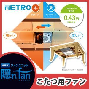 メトロ 着脱式ファンユニット 隠れfan FU-1201-K...