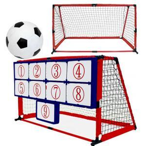 ミニゴール サッカー練習 [Enjoy Family マジックナインサッカー EFS-182]/同梱不可・代引き不可|athenesys