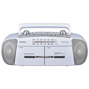 OHM AudioComm ダブルラジオカセットレコーダー RCS-371Z[カラオケ練習に ダビング 録音]|athenesys