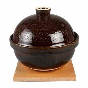 長谷園 いぶしぎん小 NCT-43[家庭用土鍋 燻製土鍋]/同梱不可・代引き不可