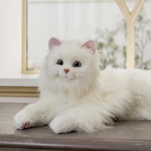 【在庫有】電子ペット 猫 [しっぽふりふり あまえんぼうねこちゃん] ロボットペット athenesys
