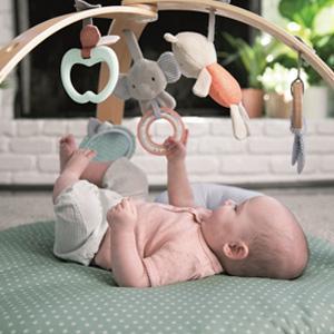 【在庫有】出産祝い ベビージム [ingenuity コージースポット リバーシブルジム]|athenesys