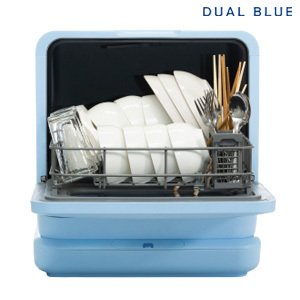 4月中旬入荷予定/食器洗い 工事不要 [食器洗い乾燥機 DUAL BLUE]/同梱不可・代引き不可|athenesys