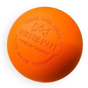 1個 ラクロスボール マッサージ ストレッチ NOCSAE公認/アスレチックマート (ATHLETIC MART)