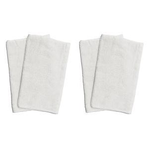 業務用フェイスタオル4枚セット:ホワイト(白) 全同色|athos