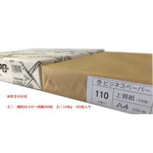 マルウ ビジネスペーパー 110Kg B4 250枚入り 上質紙/印刷用紙/レーザー/コピー/インクジェット対応|atiku-h