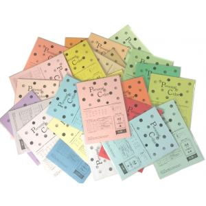 【メール便送料無料】マルウ パーソナルカラー A4 全32色 色上質紙/印刷用紙/レーザー/コピー/インクジェット対応|atiku-h