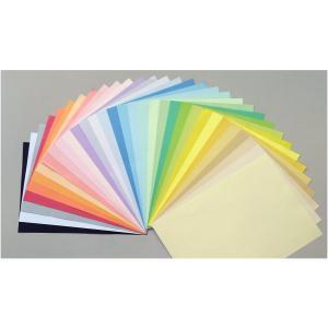 【メール便送料無料】色上質 A4 厚口 32色入りアソートパック 色上質紙/印刷用紙/レーザー/コピー/インクジェット対応|atiku-h
