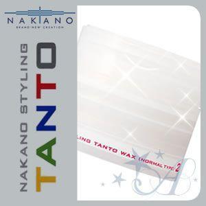 ナカノ ワックス スタイリング タント 2(ノーマルタイプ) 90g|atla