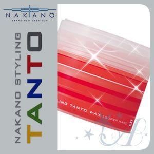 ナカノ ワックス スタイリング タント 5 スーパーハード 90g|atla