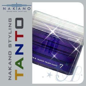 ナカノ ワックス スタイリング タント 7 スーパータフハード 90g|atla