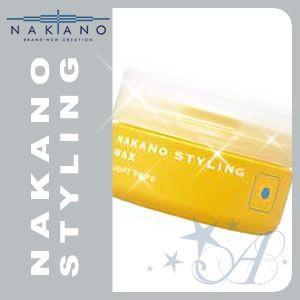 ナカノ ワックス スタイリング 1 ライト 90g|atla