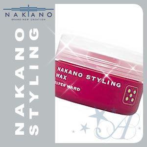 ナカノ ワックス スタイリング 5 スーパーハード 90g|atla