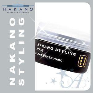 ナカノ ワックス スタイリング 6 ウルトラスーパーハード 90g|atla