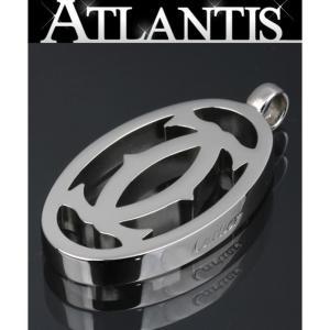 Cartier 極美品 カルティエ 2Cロゴチャーム ペンダントトップ|atlantis