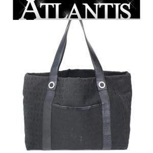 SALE ブルガリ BVLGARI ロゴマニア トートバッグ キャンバス×レザー 黒|atlantis