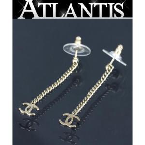 美品 シャネル ココマーク スイング ピアス G金具 98A|atlantis