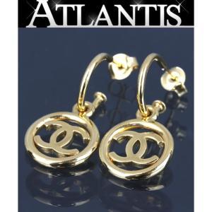 美品 シャネル ココマーク スイング ピアス G金具|atlantis