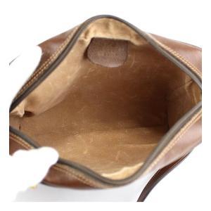 在庫処分大SALE グッチ GUCCI 斜め掛け ショルダーバッグ オールドグッチ シェリーライン PVC×レザー 茶|atlantis|03