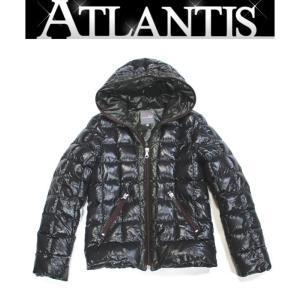 デュベティカ DUVETICA メンズ ダウンジャケット 黒×カーキ size48|atlantis