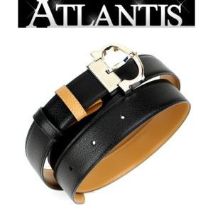 SALE 未使用 カルティエ Cartier メンズ ベルト マストライン レザー ブラック ×ブラウン|atlantis