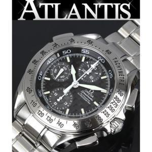 極美品 オメガ スピードマスター スプリットセコンド メンズ 腕時計 3540-50 SS atlantis