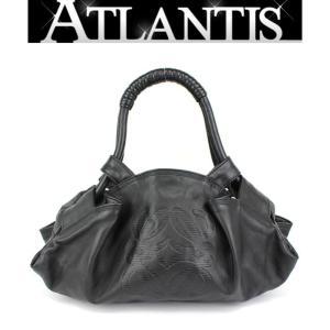 美品 ロエベ LOEWE ミニハンドバッグ ナッパアイレ レザー 黒|atlantis